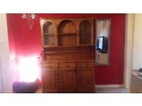 Solid pine welsh dresser for sale £170 or nearest offer