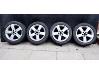 4 rims 17 inches for Ford Galaxy, S-max.