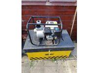 "4 stroke 3"" water pump (used once)"