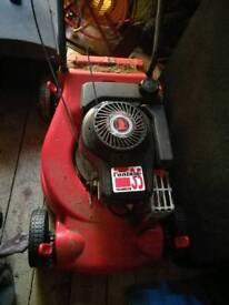Petrol rotary lawnmower 35cm blade