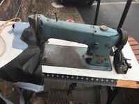 Singer Industrial Lockstitch Sewing Machine Model 196K205