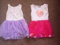 Girls dresses 2-3 x2 very pretty