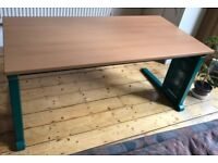 Desk with cable compartment