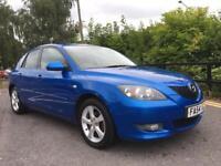 2004/54 MAZDA 3 1.6 TS2 5 DOOR BLUE ONLY £525