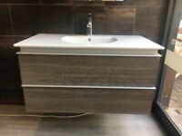 DURAVIT VANITY UNIT AND SINK