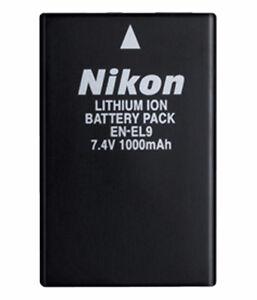 Battery, Batterie Nikon EN-EL9