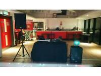 2 Peavy pro 15 dj speakers 15inch