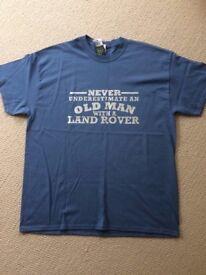 Landrover T shirt