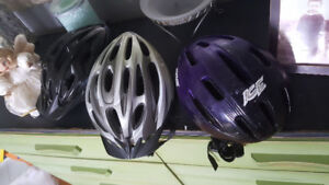 Adult/teen bike helmets