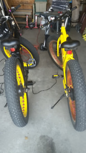 Pair of adult Electric bikes Outstanding performance Douglasdale