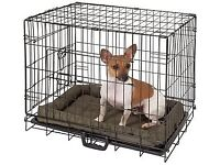 Plastic Cat Bed an Small Metal Dog Cage For Sale