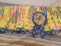 Beautiful children's bedroom curtains, hand-made