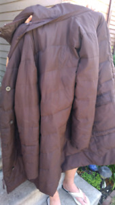 Womens Roots extra long jacket size large