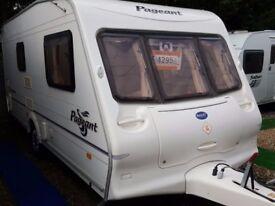 2004 Bailey Pageant Monarch 2 Berth End Washroom Caravan with Motor Mover