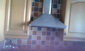 Hotpoint Cooker Hood Stainless Steel