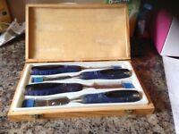 Cabinet maker 4 pc chisel set