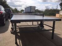 Kettler Classic 10 Outdoor Table Tennis Table - Grey (Good condition - Assembled -accessories inc.)