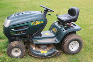 "For Sale 42"" Yardworks lawn tractor 17.5 hp"