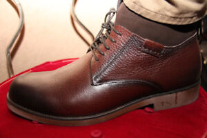 Ankle Leather dressing Boot