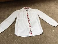 Girls Barbour shirt aged 5-6