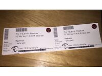 4 x tickets for Madness @ Falkirk Stadium 4/8/17