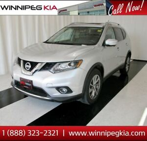 2015 Nissan Rogue SL *Loaded w/ 360 Camera, Pano. Sunroof & More