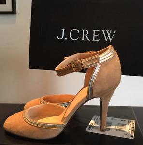 Brand New   J. Crew Purple Metallic Heels [8]