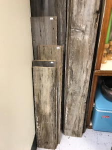 Barn Wood approximately $6-$18 per board~price varies per piece