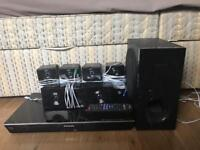 Panasonic SC-BTT400EBK Full HD 3D Blu-ray Disc 5.1 Home Cinema System