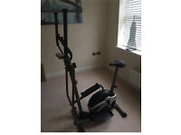 Body Sculpture 2 in 1 cross trainer and bike