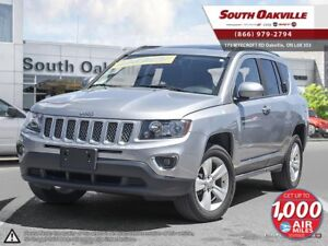 2016 Jeep Compass High Altitude | 4X4 | HEATED LEATHER | MOONROO