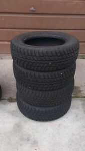 6 tires - 4 winter tires and 2 all season