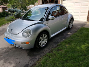 2002 vw beetle turbo loaded - 103,000 km - $4950 cert and etest