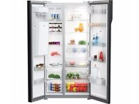 BEKO ASGP342X American-Style 60/40 Fridge Freezer - Stainless Steel