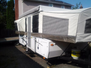 2012 Rockwood Premier 2514G Tent Trailer with 2 pop outs