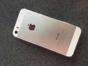 New iPhone 5s. One month Warranty w. AppleCare (Virgin Network)