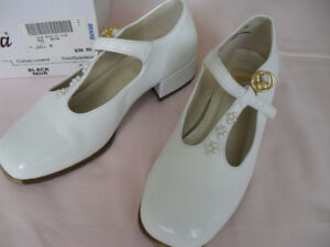 pair of girl's dress shoes