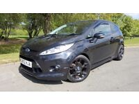 Ford Fiesta 1.6 Metal 3dr FULL LEATHER + FSH + BLUETOOTH