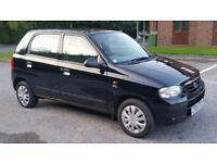 Suzuki Alto 1.1 5dr Hatch. genuine low miles. Lady owned from new. Mot until January 2018.