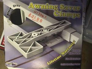 2 Awning Clamps