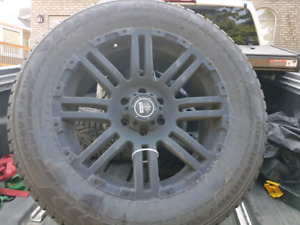 Nissan titan winter tires and rims