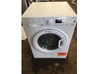 Hotpoint WDPG8640 8+6kg 1600 Spin Washer Dryer in White #3976