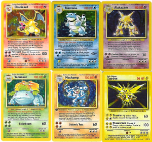 I WANT YOUR OLD POKEMON CARDS!