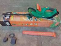 Black & Decker cordless rechargeable hedge trimmer