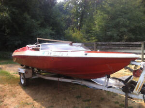 1979 Sidewinder w/125hp evinrude and trailer