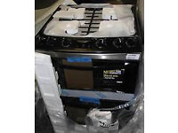 Zanussi gas cooker 60cm in gloss black --B/NEW-- with warranty and delivery available