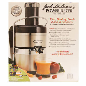 NEW Jack Lalanne Power Juicer Deluxe Electri