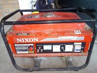 Nixon Generator KGE 2200X. Located near Lanark.