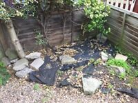 FREE rubble and wood