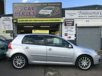 2007 VOLKSWAGEN GOLF DIESEL 2.0 GT TDI 140 5 DOOR ( AA ) WARRANTED INCLUDED